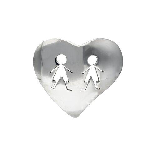Colgante Corazón Niño Niño