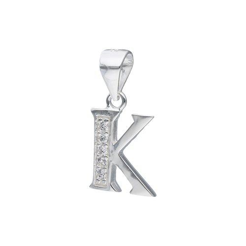 Colgante Letra K con Circones