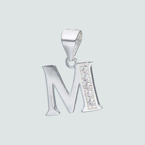 Colgante Letra M con Circones