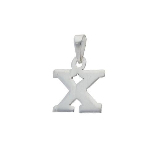 Letra X Estampada